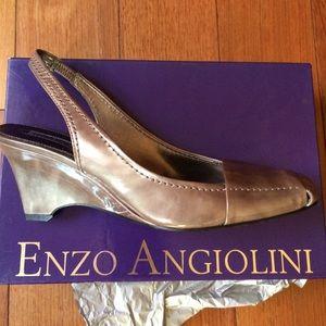 Enzo Angiolini Shoes - NIB Enzo Angiolini Slingback Wedges