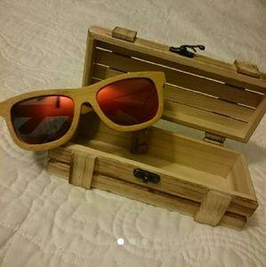 Sunglasses - Polarized - Boho, Wooden,