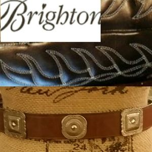 Brighton Accessories - Brighton Silver Concho Belt