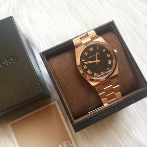 NWT Michael Kors Authentic Rose Gold Watch!
