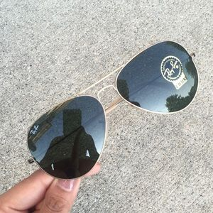 New Ray-Ban Authentic Aviator Sunglasses!