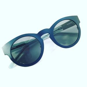 3.1 Phillip Lim Linda Farrow Steel Sunglasses