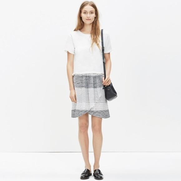 74 madewell dresses skirts madewell silk faux
