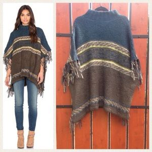 Free People Sweaters - NEW!  Free People 'Labyrinth' poncho