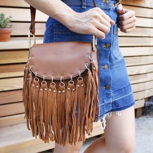 Bohemian tassel handbag