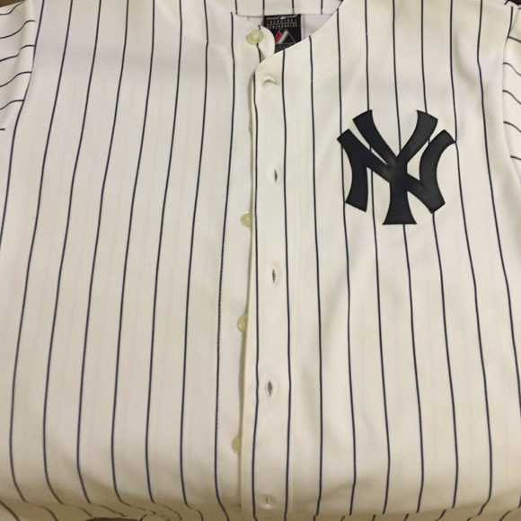 new arrival 7d78b f6468 hot majestic ny yankees baseball jersey 0aed4 a282e