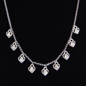 Cookie Lee Jewelry - Sterling Silver Heart Necklace