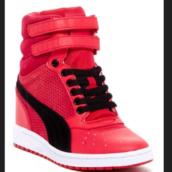 f41205bb9a1 Puma sky wedge sneaker