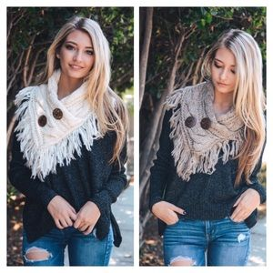 Accessories - Fall/Winter New Arrival, Crochet Scarf