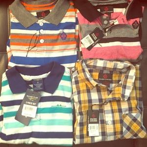 Swiss Legend Other - Bundle of 4 kids shirts for school size 6 NWT