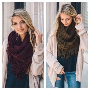Accessories - ✨HP✨ Fall/Winter New Arrival, Infinity Scarf
