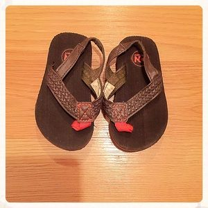 {Old Navy} Brown Flip Flops, Infant 5