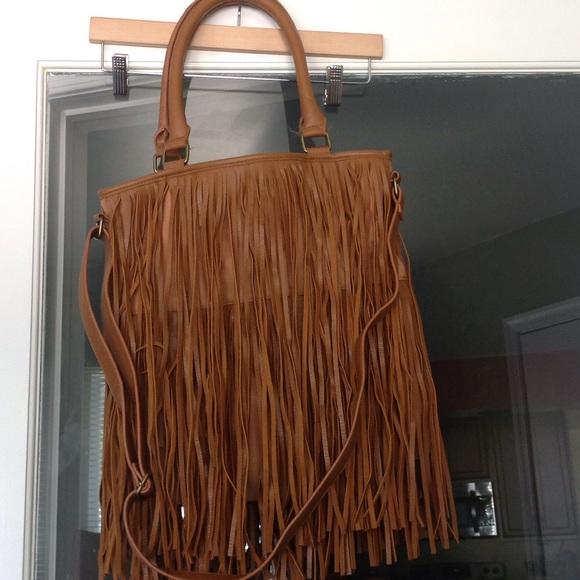 Women s Fringe Crossbody Handbag Tan - Mossimo. M 57a359beb4188ecb56007a73 fdced9c39c4a9