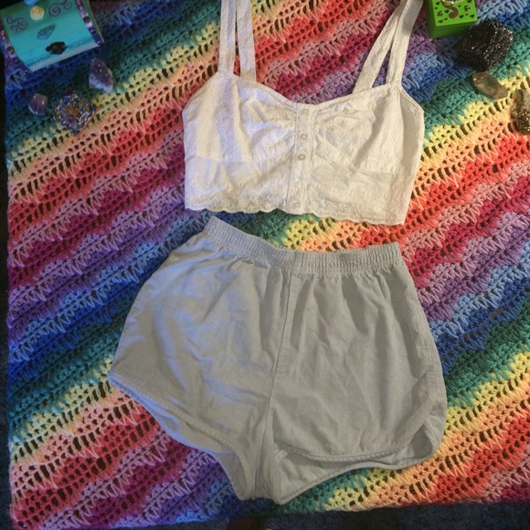 f8f2be5d6a5c American Apparel Pants - American Apparel 50 s inspired Notebook shorts