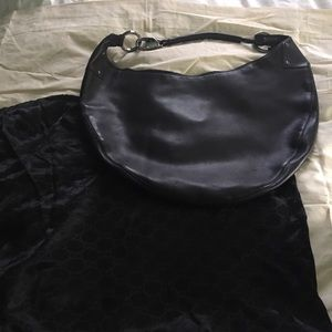 XXL Gucci leather hobo!