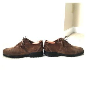 Alberto Guardiani brown suede bucks