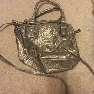 Gia milani Handbags - Silver tote purse