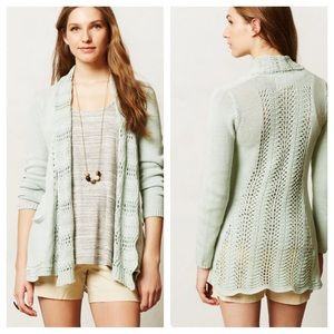 Anthropologie Sweaters - Anthro Lacestich cardigan