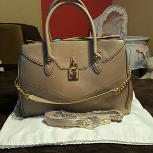 Brand New Taupe handbag