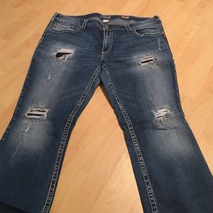 94b17bf4798c8 Silver Jeans Jeans - Pioneer bootcut Silver Jeans Size 22