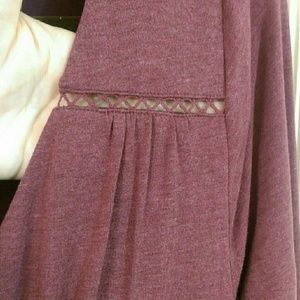 Maeve Anthropologie Dusty Rose Lined Dress, NWOT