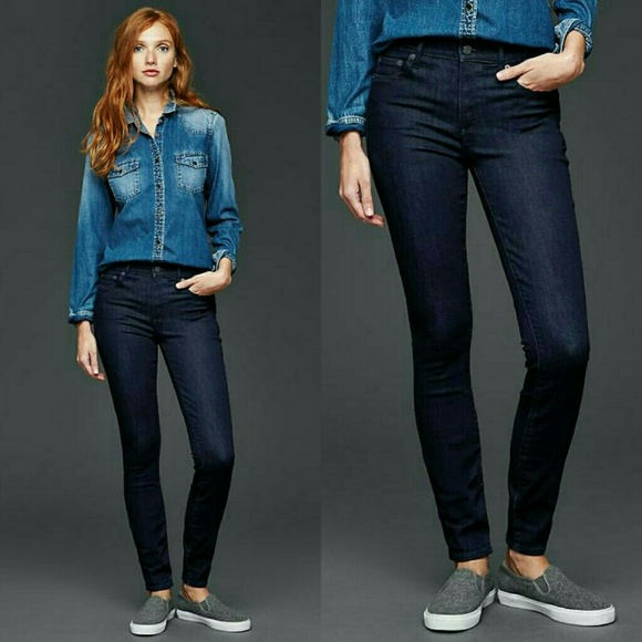 49% off GAP Denim - GAP 30R STRETCH 1969 true skinny jeans Dark Wash from Aurorau0026#39;s closet on ...
