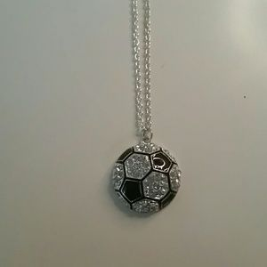Jewelry - Soccer ball necklace