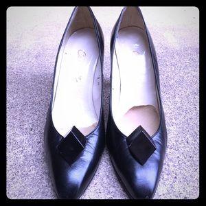 Caressa Kitten Heel Shoes