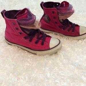 5a1d81cb415a Converse Shoes - Kids High Top Tutu Converse