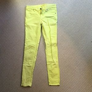 LF Denim - LF citrus yellow carmar jeans