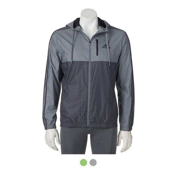8bed9fdd6cde Adidas Jackets   Blazers - adidas grey windbreaker