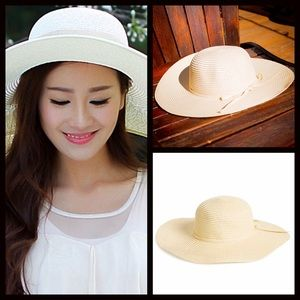 SUN HAT Wide Brim Floppy Hat