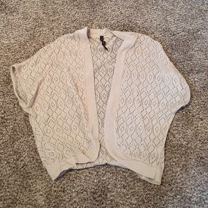 Tops - Tan cardigan