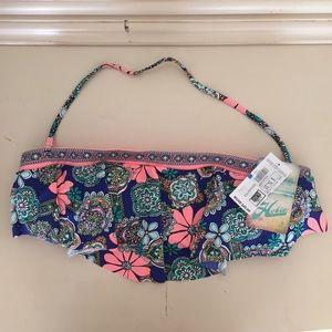Hobie Other - NWT Bandeau Bikini Top