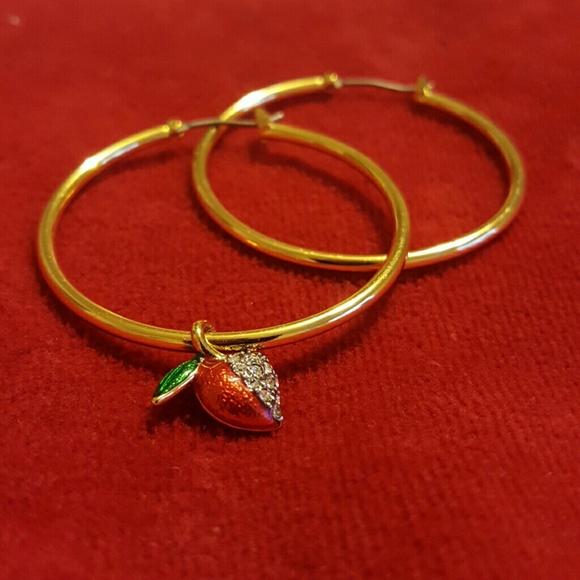 2c1fab0adefac Juicy Couture gold hoop earrings NWT