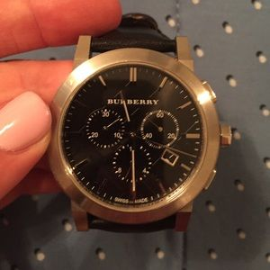 Burberry men's watch.