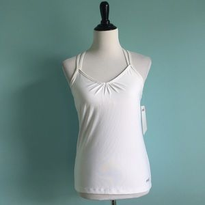 Avia Tops - White Workout Top