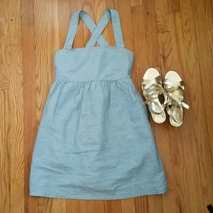 Tulle Crossed Back Dress