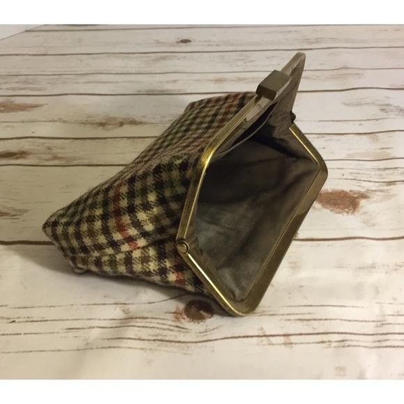 J. Crew Bags - Plaid J Crew clutch purse