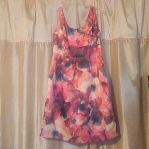 Merona printed A-line dress