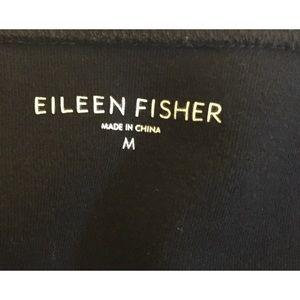 Eileen Fisher Tops - EUC Eileen Fisher black cotton top size medium