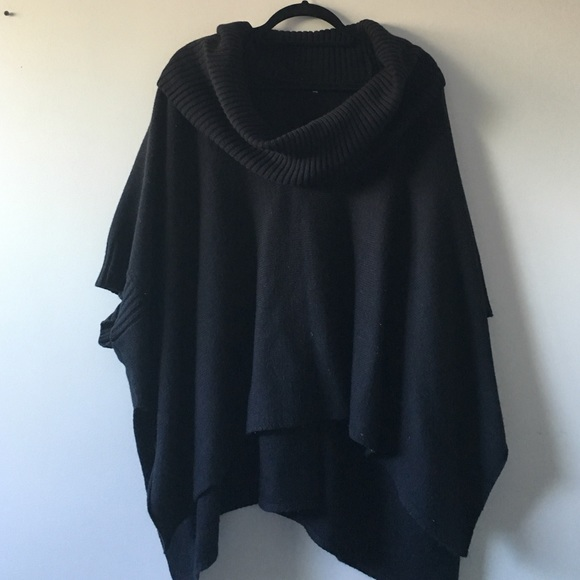 69% off H&M Sweaters - ON HOLD! NEVER WORN!! H&M Black Cowl Neck ...