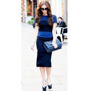 Victoria Beckham Dresses & Skirts - Victoria Backhan blue dress look alike