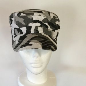 BK Accessories - Shades of Gray Camo Cap,  NWOT