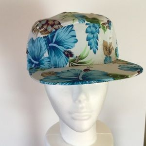 🐬Blue Hawaii Baseball Cap. NWOT