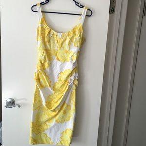 Suzi chin by maggy boutique yellow dress.