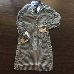 Banana Republic Fitted Shirtdress