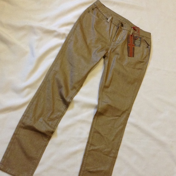 82% off Liverpool Jeans Company Pants - NWT Liverpool Khaki Silver ...