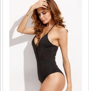 New one piece bathing suit
