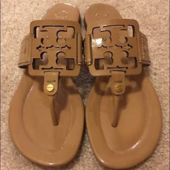 07cec71a6596 Tory Burch Miller square sandals. M 57a3d524ea3f364bfb008804